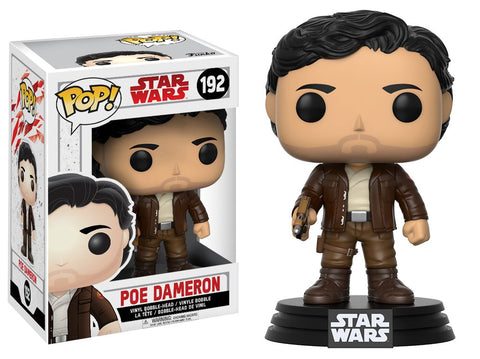 POP! Star Wars EP8 The Last Jedi Poe Dameron