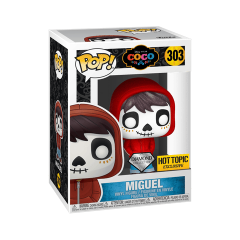 Funko POP Disney: Coco - Miguel Diamond Edition 303 Hot topic Exclusive (Buy. Sell. Trade.)