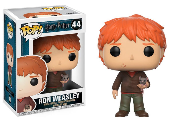 Pop! Movies Vinyl Harry Potter Ron Weasley w Scabbers