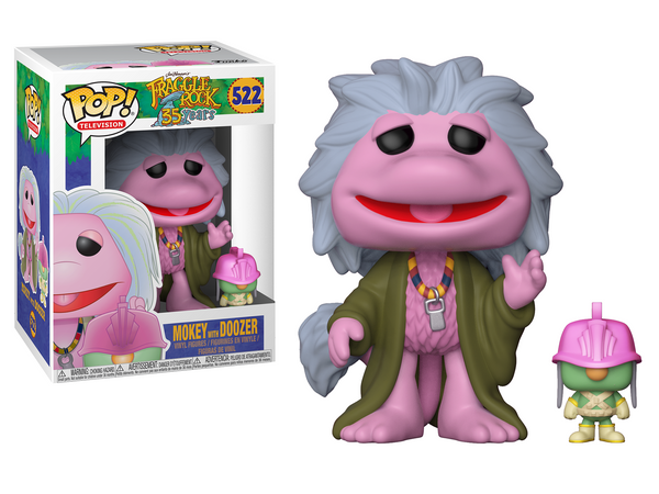 Funko POP! Television: Fraggle Rock - Mokey with Doozer