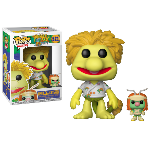 Funko POP! Television: Fraggle Rock - Wembley with Doozer