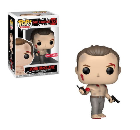 Funko Pop Movies Die Hard- John McClane Target Exclusive 672 (Buy. Sell. Trade.)