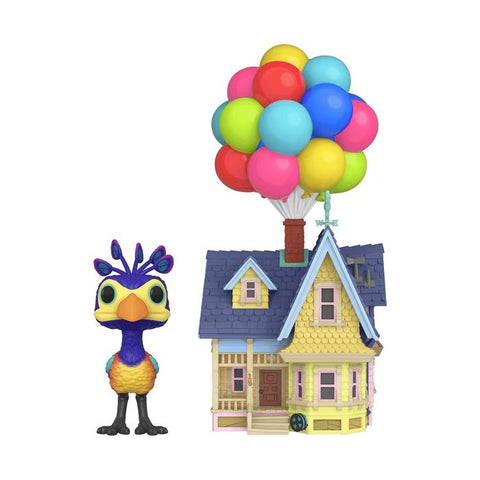 Funko POP! Town Disney Pixar Up Kevin with Up House Vinyl Figures - BoxLunch Exclusive (BUY.SELL.TRADE)