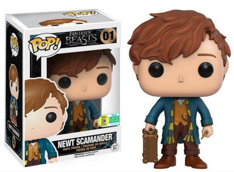 Pop! Movies Vinyl Fantastic Beasts Newt Scamander SDCC 2016 Exclusive