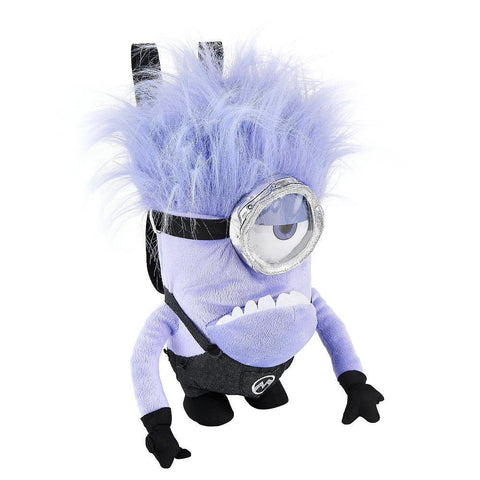 Despicable Me 2 Purple Minion 1-Eye Plush Backpack