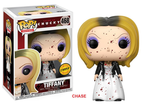 Pop! Movies Horror S4 Vinyl Bride of Chucky Tiffany CHASE