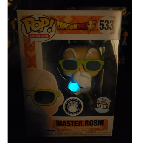 Funko POP Master Roshi Specialty Series Custom by Popeteers (Buy. Sell. Trade.)