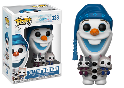 Pop! Disney Vinyl Olaf's Frozen Adventure Olaf With Kittens