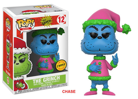 Pop! Books: The Grinch- Santa Grinch Chase