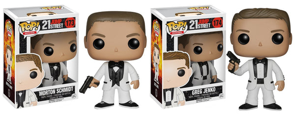 Pop! Movies Vinyl 21 Jump Street set Morton and Greg