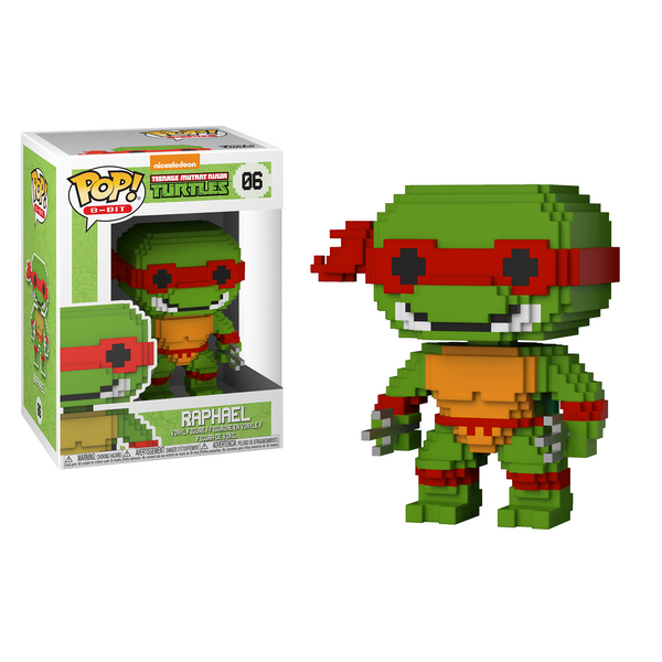 Funko Pop! 8-Bit: Teenage Mutant Ninja Turtles - Raphael