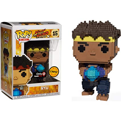 Funko Pop! 8-Bit: Street Fighter Ryu Chase GameStop Exclusive (Buy. Sell. Trade.)