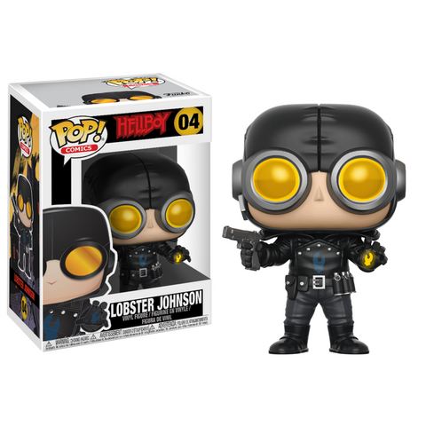 Funko POP! Comics Hellboy Lobster Johnson