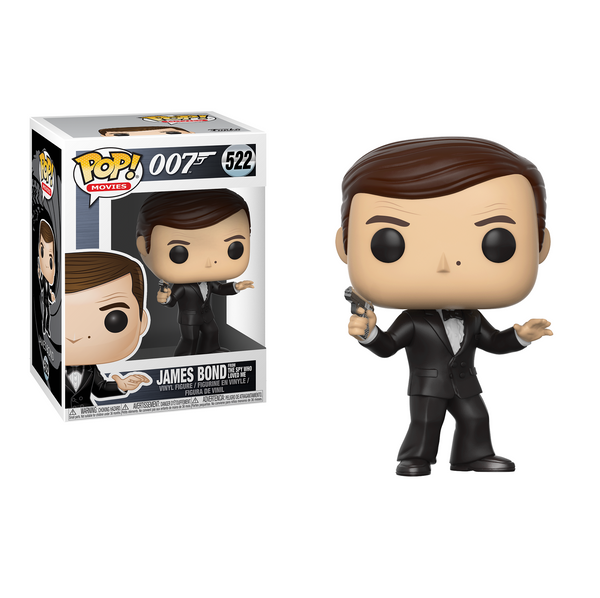 Funko POP! Movies: James Bond - James Bond (Roger Moore)