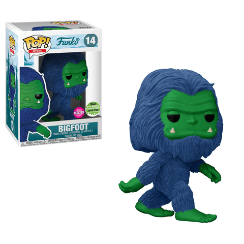 Funko Pop! Myths: Bigfoot Flocked Blue ECCC Exclusive (Buy. Sell. Trade.)