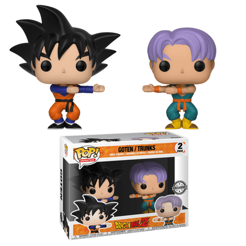 Funko Pop! DragonBall Z Goten Trunks Fusion 2 Pack *No Sticker* (Buy. Sell. Trade.)