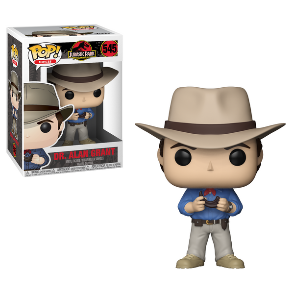 Funko POP! Movies: Jurassic Park - Dr. Alan Grant