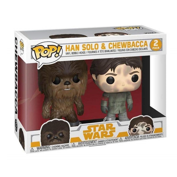 Funko Pop! Movies: Star Wars - Han Solo and Chewbacca Smuggler's Bounty Exclusive (Buy. Sell. Trade.)