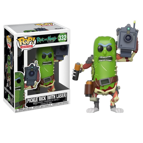 Funko POP! Animation Rick & Morty Pickle Rick with Laser