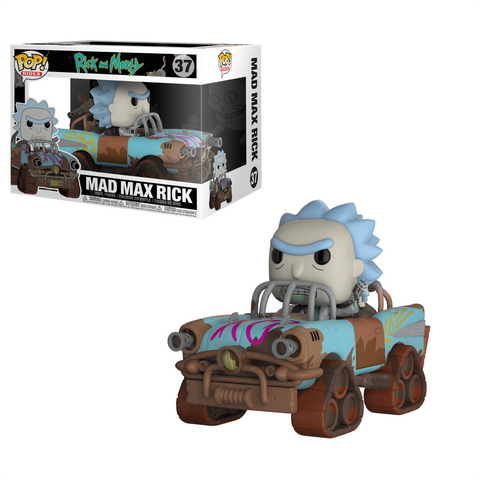 Funko Pop! Rides: Rick and Morty - Mad Max Rick