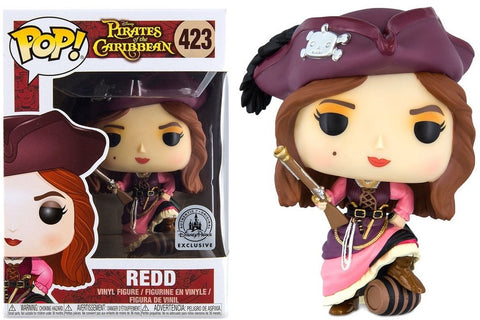 Funko Pop! Disney Pirates of the Caribbean - Redd 423 Disney Parks Exclusive (Buy. Sell. Trade.)