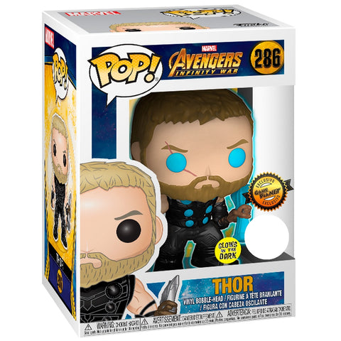 Funko Pop! Marvel: Avengers Infinity War - Thor GamePlanet Glow in the Dark Exclusive (Buy. Sell. Trade.)