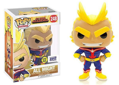 Funko Pop! Animation: My Hero Academia - All Might 248 (GITD) Funimation Exclusive ( Buy. Sell. Trade)