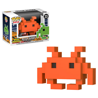 Funko Pop! 8-Bit: Orange Medium Invader GameStop Exclusive (Buy. Sell. Trade.)