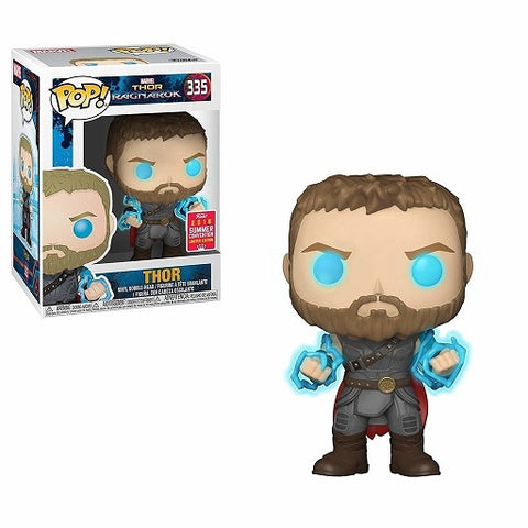 Funko Pop! Marvel: Thor Ragnarok - Thor GITD 2018 Summer Convention Exclusive (Buy. Sell. Trade.)