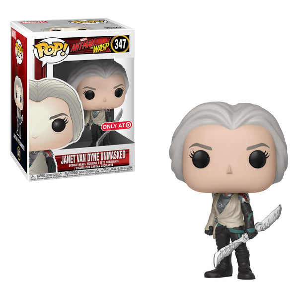 Funko Pop! Marvel: Ant-man and Wasp Janet Van Dyne Unmasked Target Exclusive (Buy. Sell. Trade.)