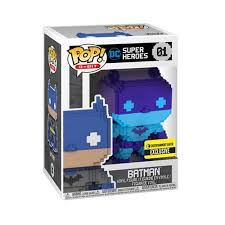Funko Pop! 8-Bit Batman 01 Entertainment Earth 2018 Debut SDCC Sticker!!! (Buy. Sell. Trade.)