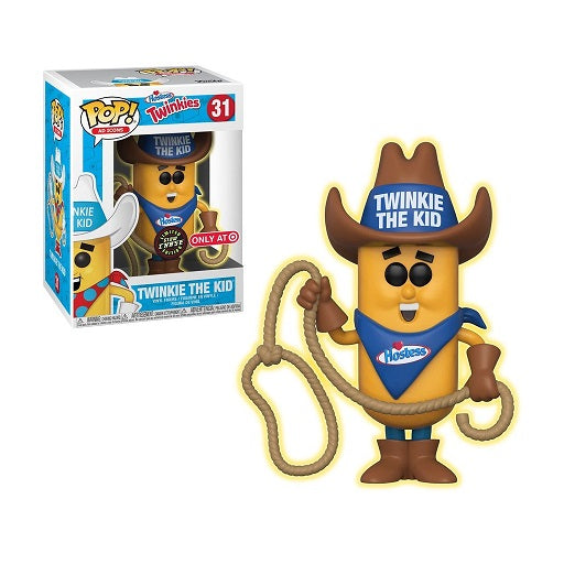 Funko Pop! Ad Icons: Twinkie The Kid Glow Chase Target Exclusive (Buy. Sell. Trade.)