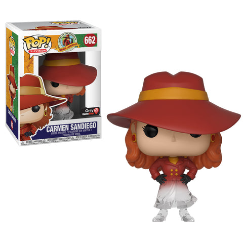 Funko Pop! Television: Carmen Sandiego Game Stop Exclusive (Buy. Sell. Trade.)