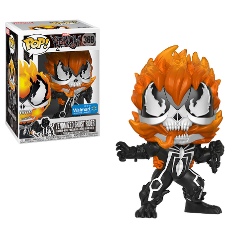 Funko Pop! Marvel: Venomized Ghost Rider SPECIAL EDITION STICKER!!! (Buy. Sell. Trade.)