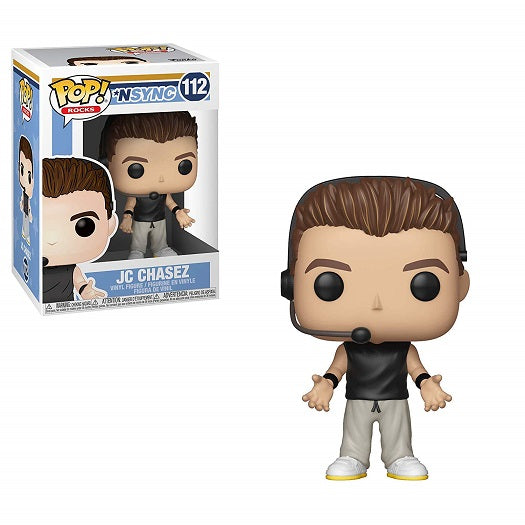 Funko POP! Rocks: NSYNC - JC Chasez