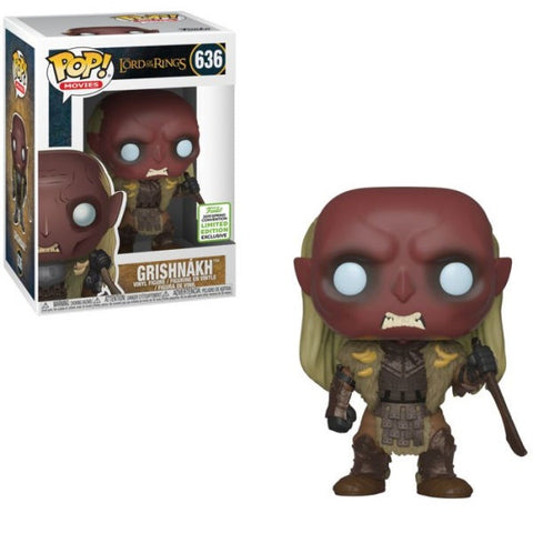 Funko Pop! Movies: Lord of the Rings Grishnakh 2019 Spring Convention Exclusive (Buy. Sell. Trade.)