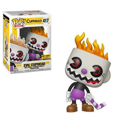 Funko Pop! Games: Evil Cuphead Hot Topic Exclusive (Buy. Sell. Trade.)