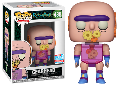 Funko Pop! Animation: Rick and Morty Gearhead 2018 Fall Convention Exclusive (Buy. Sell. Trade.)