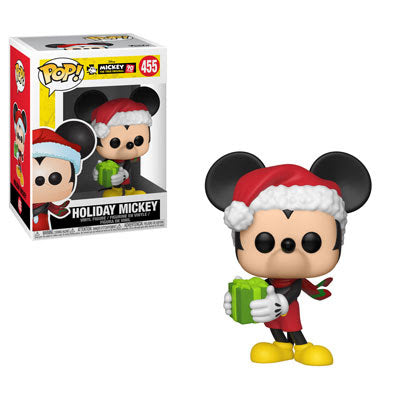 Funko POP! Disney: Holiday Mickey with Gift