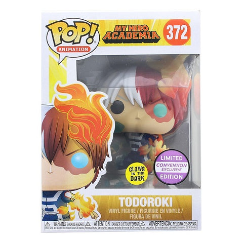 Funko Pop! Animation: My Hero Academia Todoroki GITD Convention Exclusive (Buy. Sell. Trade.)