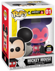 Funko Disney Mickey Mouse 01 Pink and Purple Funko Shop Sticker (Buy. Sell. Trade.)