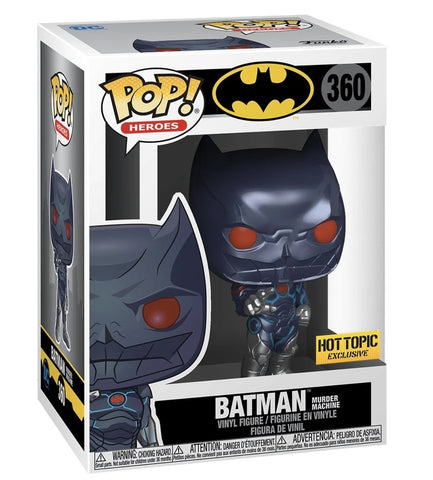 Funko Pop! Heroes Batman Murder Machine 360 HotTopic Exclusive (Buy. Sell. Trade.)