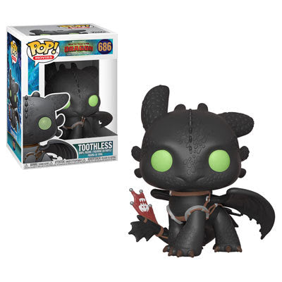 Funko POP! Movies How To Train Your Dragon- Toothless 686