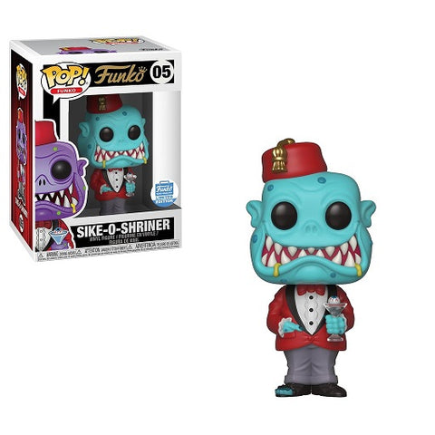 Funko Pop! Sike-O-Shriner Funko-Shop Exclusive (Buy. Sell. Trade.)