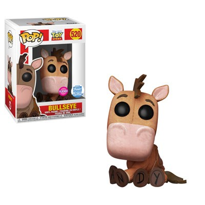 Funko Pop! Disney: Toy Story - Bullseye Flocked 520 Funko Shop Exclusive (Buy. Sell. Trade.)