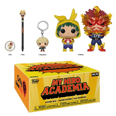 Funko Pop! Animation: My Hero Academia Mystery Box Game Stop Exclusive (Buy. Sell. Trade.)