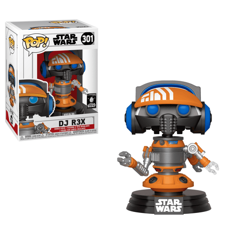 Funko Pop! Movies: Star Wars - DJ R3X 301 Disney Parks Exclusive (Buy. Sell. Trade.)