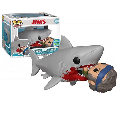 Funko Pop! Movies: Jaws - Shark Biting Quint 2019 Summer Convention (Buy. Sell. Trade.)