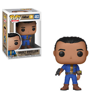 Funko Pop! Games: Fallout 76 - Male Vault Dweller