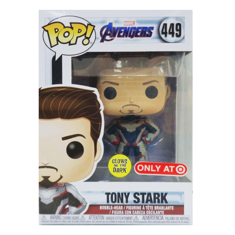 Funko Pop! Marvel: Avengers Endgame Tony Stark GITD Target Exclusive (Buy. Sell. Trade.)